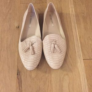 Zara pink loafers